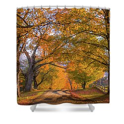 Classic Vermont Fall Shower Curtain
