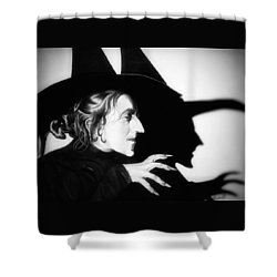 Classic Wicked Witch Of The West Shower Curtain by Fred Larucci