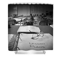 Classroom Shower Curtain