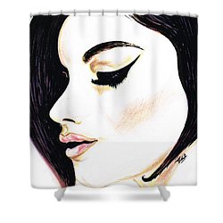 Classy Lady Shower Curtain