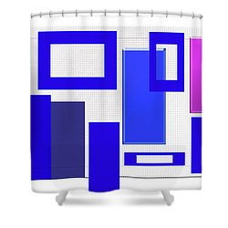Clean Lines Shower Curtain