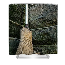 Clean Sweep Shower Curtain by Michael McGowan