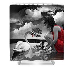 Cleanse Shower Curtain