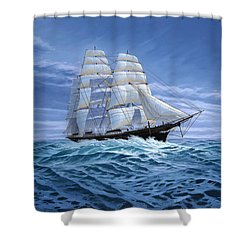 Clear Skies Ahead Shower Curtain