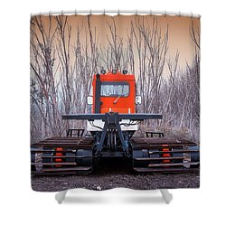 Shower Curtain featuring the photograph Clear The Way by Tim Nichols