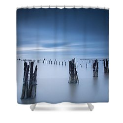 Clear Void Shower Curtain