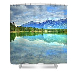 Shower Curtain featuring the photograph Clear Waters At Lake Annette by Tara Turner