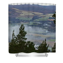 Mist At Tormore  Shower Curtain