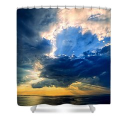 Clearing Storm Halibut Pt. Shower Curtain