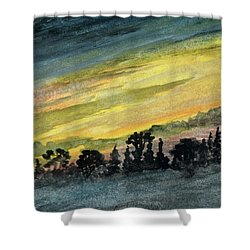 Clearing Storm Shower Curtain by R Kyllo