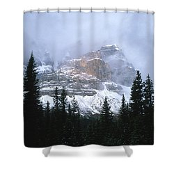 Clearing Storm Shower Curtain by Sandra Bronstein