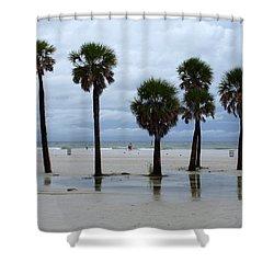 Clearwater Beach Shower Curtain