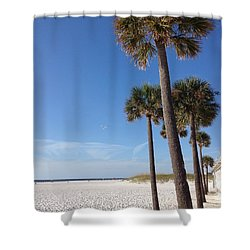 Clearwater Palms Shower Curtain