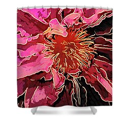Clematis Up Close And Personal Shower Curtain