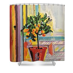 Clementine Shower Curtain