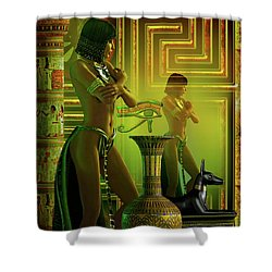Cleo Reflections Shower Curtain