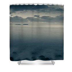 Cleopatra Bay Turkey Shower Curtain