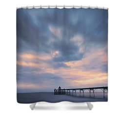 Clevedon Pier Shower Curtain