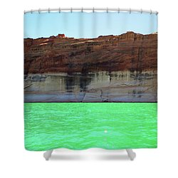 Cliff At Lake Powell Shower Curtain