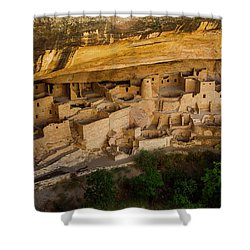 Cliff House From Above Shower Curtain