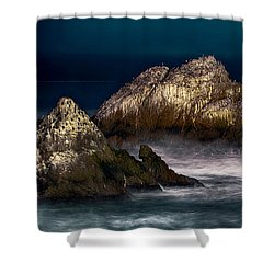 Cliff House San Francisco Seal Rock Shower Curtain