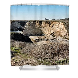 Cliff Top Shower Curtain
