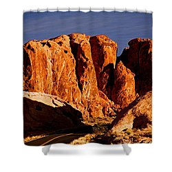 Cliffs In Valley Of Fire State Park, Nv Shower Curtain