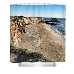 Cliffs Of Davenport Shower Curtain