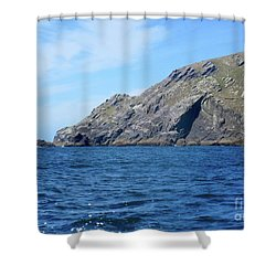 Cliffs Of Ireland  Shower Curtain