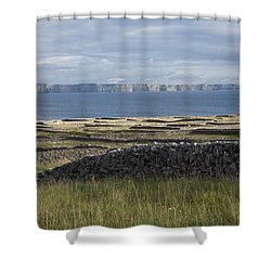 Cliffs Of Moher From Inisheer Shower Curtain
