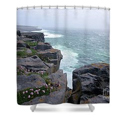 Cliffs Of The Aran Islands 4 Shower Curtain