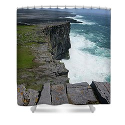 Cliffs Of The Aran Islands 5 Shower Curtain