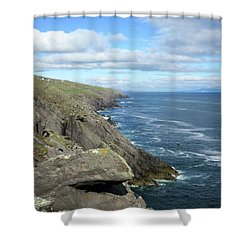 Cliffs Of The Aran Islands Shower Curtain