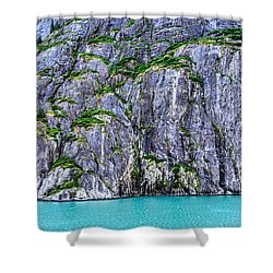 Cliffs Of The Inside Passage Shower Curtain