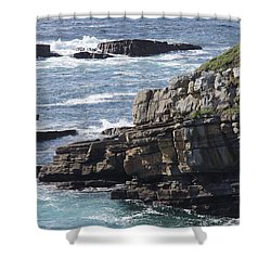 Cliffs Overlooking Donegal Bay Shower Curtain