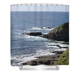 Cliffs Overlooking Donegal Bay II Shower Curtain