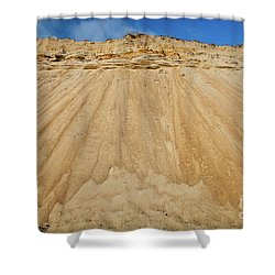 Shower Curtain featuring the photograph Cliffward by Susan Cole Kelly