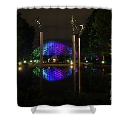 Shower Curtain featuring the photograph Climatron 2017 by Andrea Silies