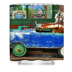 Climax Shower Curtain by Skip Hunt
