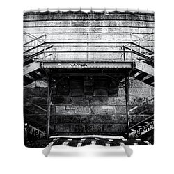 Climb The Stairs Shower Curtain