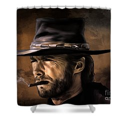Clint Shower Curtain