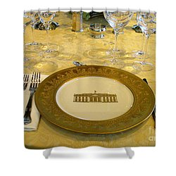 Clinton State Dinner 2 Shower Curtain by Randall Weidner