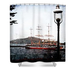 Clipper Ship Shower Curtain