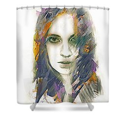 Cloak Shower Curtain