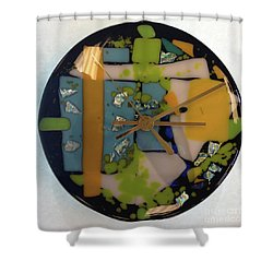 Clock Shower Curtain