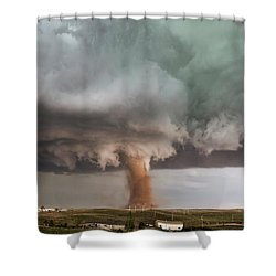 Close Call Shower Curtain