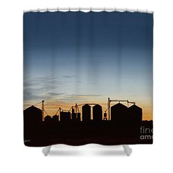 Close Of Day Shower Curtain