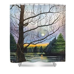 Close To Dusk Shower Curtain