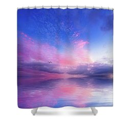 Close To Infinity Shower Curtain