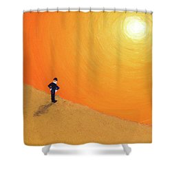 Close To The Edge Shower Curtain